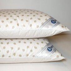 Ančių pūkų ir plunksnų pagalvė (90%-pūkų, 10%-plunksnų), 68x68 cm