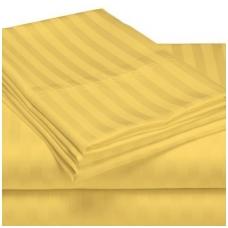 """Juostuota satino paklodė su guma """"Geltonos juostos"""""""