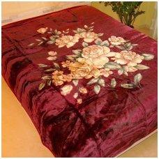 """Pledas """"Rožių švelnumas"""", 200x240 cm"""