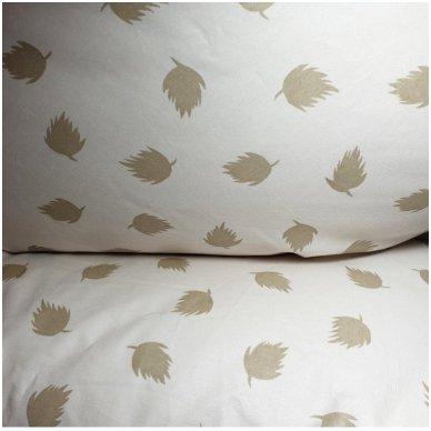 Ančių pūkų ir plunksnų pagalvė (90%-pūkų, 10%-plunksnų), 68x68 cm 6