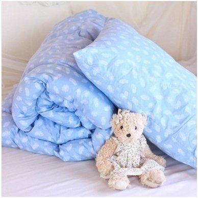 """Pūkinė antklodė """"Lunksnelė"""" 100x140 cm"""