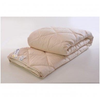 Skalbiama antklodė su avių vilnos užpildu, 200x220 cm (450 g/m²) 2