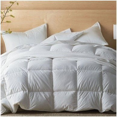 Universali pūkinė (100% žąsų pūkai) antklodė SELENE, 140x200cm