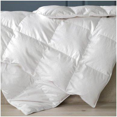 Universali pūkinė (90% pūkai-10% plunksnos) antklodė MORPHEUS, 100x140cm