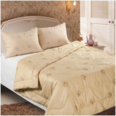 Žieminė antklodė su kupranugario vilnos užpildu (450 g/m2), 220x240 cm 5