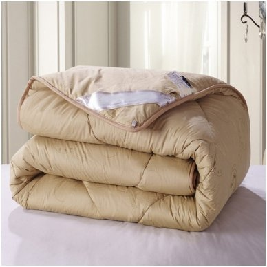 Žieminė antklodė su kupranugario vilnos užpildu (450 g/m2), 200x230 cm 5