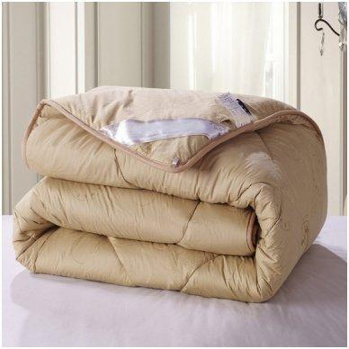 Žieminė antklodė su kupranugario vilnos užpildu (450 g/m2), 220x240 cm 6