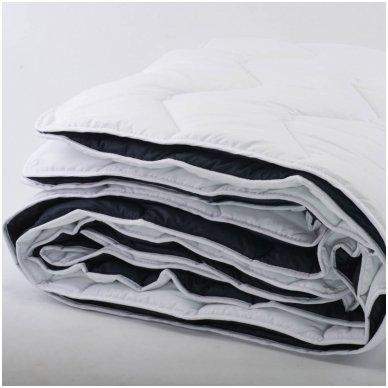 4 metų laikų antklodė susegta spaudėmis, 200x220 cm