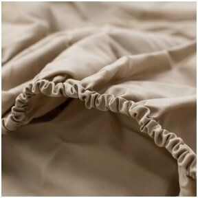 almond fitted sheet-1