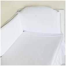 """Antialerginis patalynės komplektas """"Žvaigždėtas Sapnas"""", 100x135 cm (balta)"""