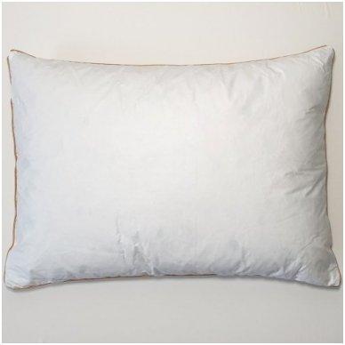 Ančių plunksnų ir pūkų pagalvė (15%-pūkų, 85%-plunksnų), 50x70 cm 5