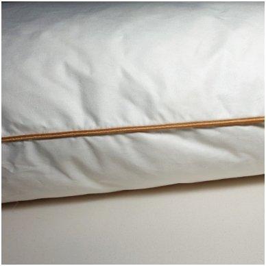 Ančių plunksnų ir pūkų pagalvė (15%-pūkų, 85%-plunksnų), 50x70 cm 4
