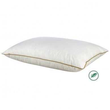 Ančių plunksnų ir pūkų pagalvė (15%-pūkų, 85%-plunksnų), 50x70 cm