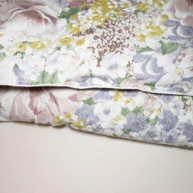 Ančių pūkų ir plunksnų antklodė (90% pūkai-10% plunksnos), 140x205 cm 5