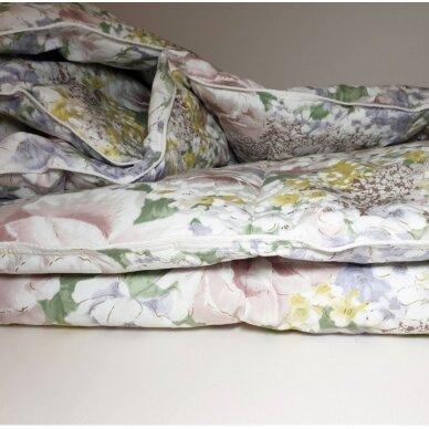 Ančių pūkų ir plunksnų antklodė (90% pūkai-10% plunksnos), 140x205 cm 4