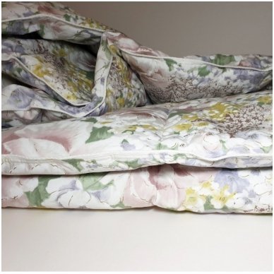 Ančių pūkų ir plunksnų antklodė (90% pūkai-10% plunksnos), 200x220 cm 4