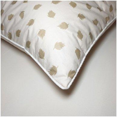 Ančių pūkų ir plunksnų pagalvė (90%-pūkų, 10%-plunksnų), 50x70 cm 4