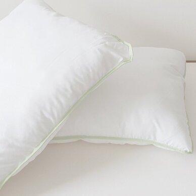 Antialerginė antklodė ALOE VERA (140x200 cm) + Pagalvė ALOE VERA (70x70 cm) 4