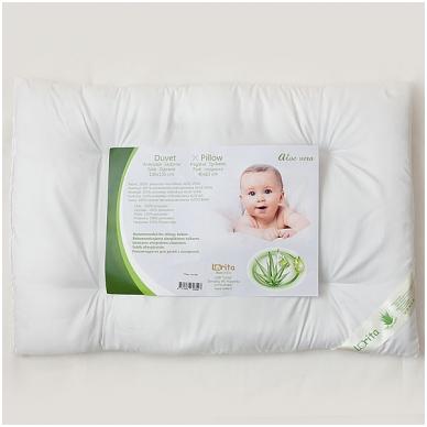 """Antialerginė pagalvė kūdikiui """"Aloe Vera"""", 40x60 cm 2"""