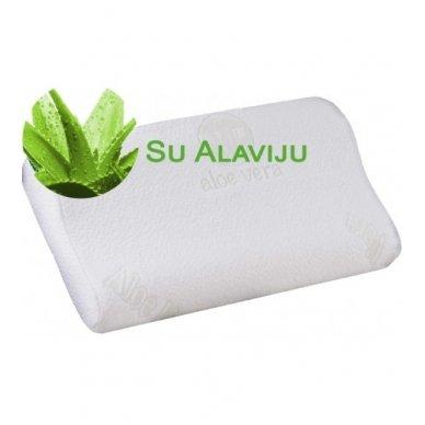 Antialerginis pagalvės užvalkalas su alaviju 50x30 cm