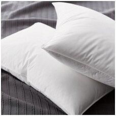 Ar pūkines pagalves galima skalbti?