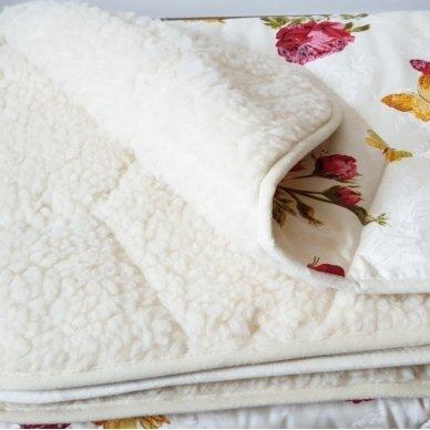 """Avių vilnos antklodė """"VERONA"""" (dvipusė), 200x220 cm 3"""