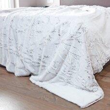 """Bambukinis pledas-lovos užtiesalas """"Pilkšvas Sapnas"""", 220x220 cm"""