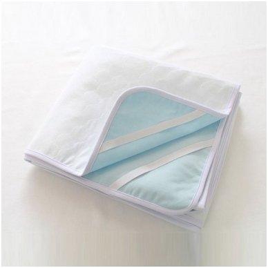 Brisse neperšlampantis čiužinio užvalkalas su gumelėmis kampuose