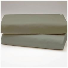 """Drobės paklodė """"Šilta pilka"""""""