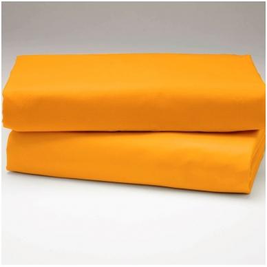"""Drobės paklodė """"Geltona"""""""