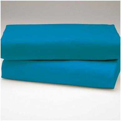 "Drobės paklodė ""Mėlyna"""