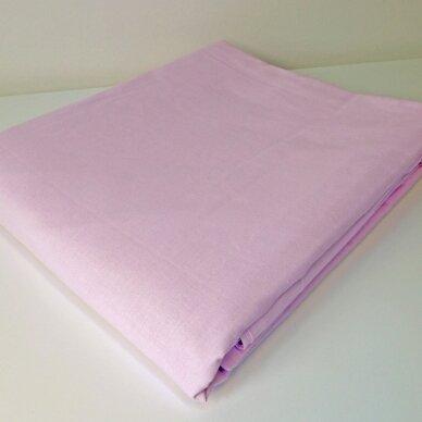 """Drobės paklodė su guma """"Rožinė pasaka"""""""