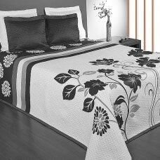 "Dvipusė lovatiesė ""Gėlių Sodas"", 250x260 cm + 2 užvalkaliukai pagalvėms (50x50 cm)"