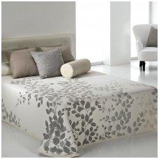 "Dvipusis lovos užtiesalas ""Geiša"", 250x270 cm (pilka)"