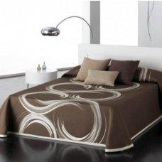 """Dvipusis lovos užtiesalas """"Šokolado Spalvos"""", 235x270 cm"""