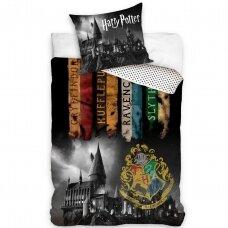 "Dvipusis patalynės komplektas ""Harry Potter"", 140x200 cm"