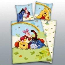 "Dvipusis patalynės komplektas ""Winnie the Pooh and the friends"", 160x200 cm"