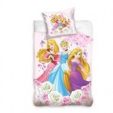 "Dvipusis patalynės komplektas ""Disney Princesses"", 140x200 cm"