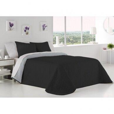 """Dvipusė lovatiesė """"Negro Palermo"""", 250x270 cm (su pagalvių užvalkaliukais) 2"""