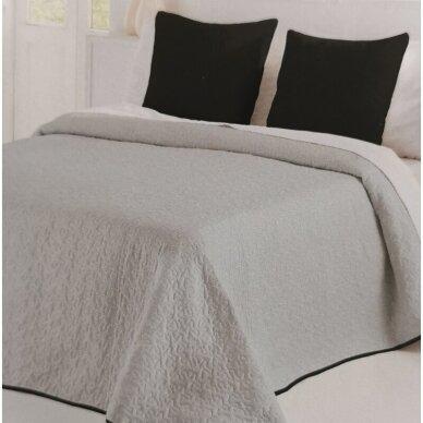 """Dvipusė lovatiesė """"Negro Palermo"""", 250x270 cm (su pagalvių užvalkaliukais) 3"""