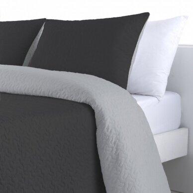 """Dvipusė lovatiesė """"Negro Palermo"""", 250x270 cm (su pagalvių užvalkaliukais) 4"""