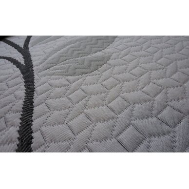"Dvipusė lovatiesė ""Gėlių Sodas"", 250x260 cm + 2 užvalkaliukai pagalvėms (50x50 cm) 2"