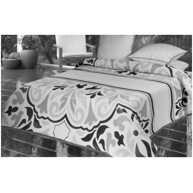 "Dvipusė lovatiesė ""Klasikos Pustoniai"", 250x260 cm 2"