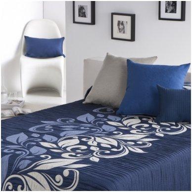 "Dvipusė lovatiesė ""Mėlyna Kelionė"", 250x270 cm"