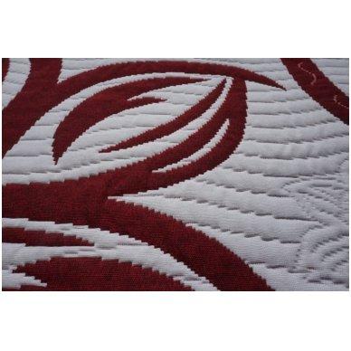 "Dvipusė lovatiesė ""Raudona Elegancija"", 250x260 cm 2"