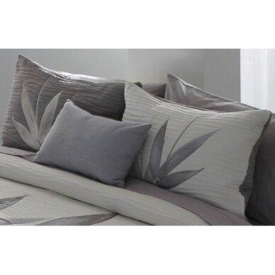 """Dvipusė lovatiesė """"Švelniosios šaklėlės"""", 250x270 cm + 2 užvalkaliukai pagalvėms 3"""