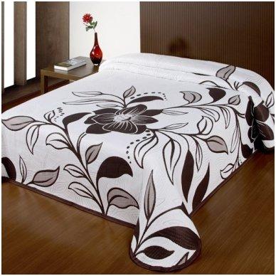 "Dvipusė lovatiesė ""Tobulas Grožis"", 250x260 cm (ruda)"