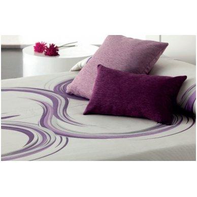 """Dvipusis lovos užtiesalas """"Avyvų Spalvos"""", 250x270 cm 2"""