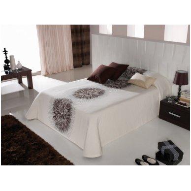 """Dvipusis lovos užtiesalas """"Brown"""", 250 x 270 cm. 2"""