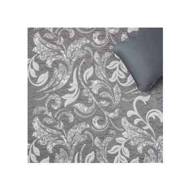 "Dvipusis lovos užtiesalas ""Evana"", 250x270 cm (pilka) 3"